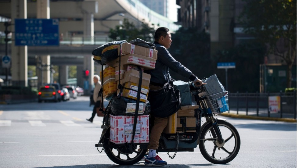 Chinese courier
